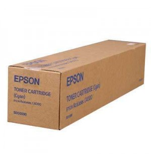 S050090 Тонер-картридж Epson AcuLaser C4000 Cyan (6000стр.)
