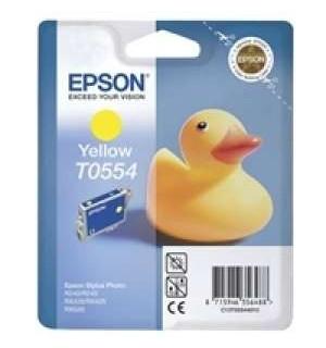T0554 / T055440 OEM Картридж для Epson Stylus Photo R240; RX400/ 420/ 425/ 520/ 540  Y (290 стр.)