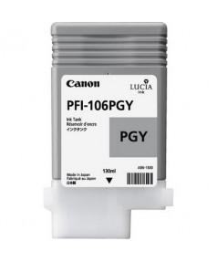 PFI-106PGY (Photo Grey) [6631B001] Картридж с чернилами для плоттера Canon iPF6400/6450 (130 мл)