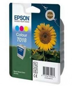 T018 / T018401 Картридж для Epson Stylus Color 680 цветной  (300 стр.)
