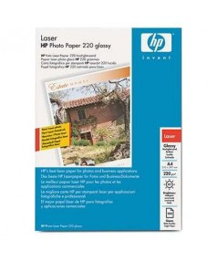 Q6614A HP Глянцевая двухсторонняя фотобумага для лазерной печати, А4, 100 листов, 220 г/ м2