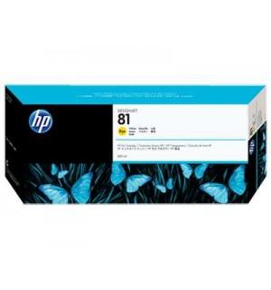 C4933A HP 81 Картридж Yellow для плоттеров HP DesignJet 5000/ 5000ps/ 5500/ 5500ps. (680 ml)