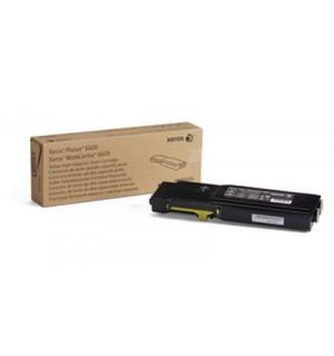 106R02235 Тонер-картридж для Xerox  Phaser 6600/WC 6605, Yellow (6K)