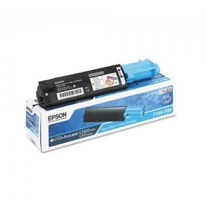 S050189 Тонер-картридж Epson AcuLaser C1100, CX11N/ CX11NF Cyan (4000стр.)