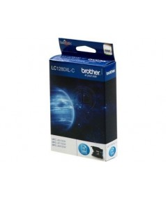 LC1280XLC Картридж для Brother MFC-J6510DW/MFC-J6910DW с голубыми чернилами повышенной емкости (2400 стр)