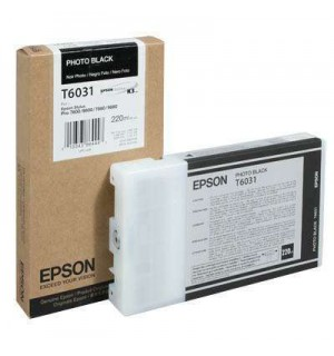T6031 / T603100 Картридж для Epson Stylus Pro 7800/ 7880/ 9800/ 9880, Photo Black (220 мл.)