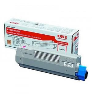 43865722/43865742 Тонер-картридж малиновый для принтеров OKI C5850/ C5950/ mc560 (6000 стр)
