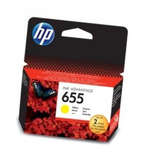 CZ112AE HP 655 Картридж для HP DJ IA 3525/ 5525/ 4515/ 4525/ 4615/ 4625/ 5525/ 6525/ 6625, желтый, 600