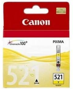 CLI-521Y [2936B004] Картридж (чернильница) к Canon Pixma IP3600/4600/4700, MP540/550/560/620/630/640/980,990; MX860/ MX870 YELLOW (220 стр.)
