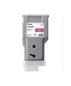 PFI-206M (Magenta) [5305B001] Картридж с чернилами для плоттера Canon iPF6400/6450 (300 мл)