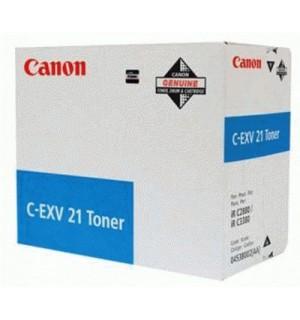 C-EXV21C [0453B002] Тонер-туба к копирам Canon  iR-2380i/ iR C2880/ iR C2880i/ iR C3380 / iR-3080/ iR-C3080i/ iR C3380i/ iR-3580/ iR-3580i (Cyan)