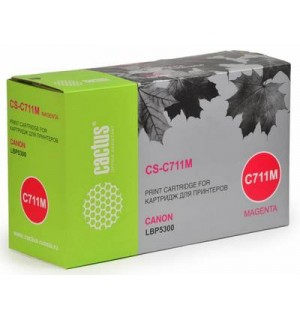 Canon Cartridge 711M Совместимый Картридж Cactus CS-C711M для Canon LBP-5300, LBP5360, MF8450, MF928