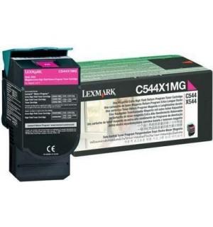 C544X1MG Картридж для Lexmark C540, C543, C544, X543, X544 Magenta Extra High Yield Return Program