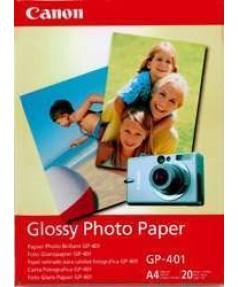 GP-401 Бумага Canon Glossy Photo Paper, глянцевая, A4, 190 г/ м2 (20л.)