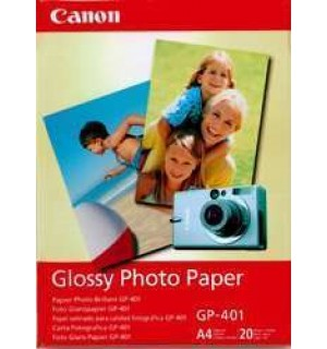 GP-401 Бумага Canon Glossy Photo Paper, глянцевая, A4, 190 г/ м2 (20л.)