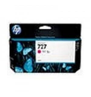 B3P20A Картридж HP 727 с пурпруными чернилами для принтеров HP Designjet T1500/ T2500/ T920 серии ePrinter, 130 мл