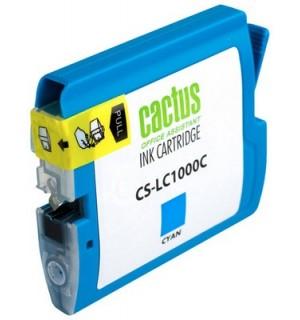 LC-1000C Совместимый Картридж Cactus для Brother DCP130C/ 330С/ 540, MFC-240C/ 440CN/ 465CN/ 660CN/