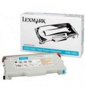 20K1400 Lexmark тонер картридж голубой для C510/C510n/C510dtn (6600 стр.) (увеличенный ресурс)