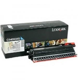 C540X32G Узел создания изображения Lexmark C540, C543, C544, X543, X544 голубой 30K