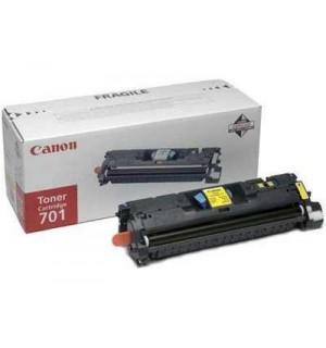 Canon Cartridge 701Y [9284A003] Картридж для Canon Laser Shot LBP5200, LaserBase MF8180C (2000 стр.) желтый
