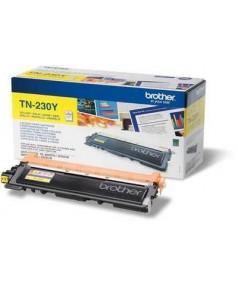 TN-230Y Желтый картридж Brother для HL-3040/ 3070/ DCP-9010CN/ MFC-9120/ 9125/ 9130/ 9320 (1400 стр.)