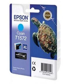 T1572 / T15724010 Картридж EPSON Stylus Photo R3000 Cyan