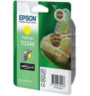T0344 / T034440 Картридж для Epson Stylus Photo 2100 Yellow (440стр.)
