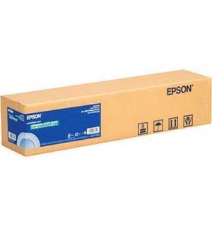 Рулон S041846 Premium Canvas Satin 17, А2, 4300мм х 12,2м, 350г/м2, холст рулонный сатинированный, для пигментных чернил