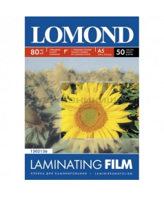 Lomond глянцевая пленка для ламинирования формат 80мм*111мм, 100 мкм/ 25 пакетов. [1302117]