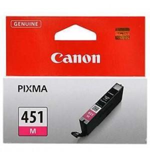 CLI-451M [6525B001] Картридж Пурпурный для PIXMA MG5440/MG5540/MG6340/MG6440/MG7140, iP7240, iP8740, MX924. 333 страниц.