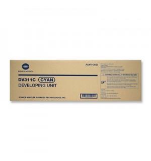 DV-311C [A0XV0KD] Блок проявки (Девелопер) для Konika Minolta bizhub C220/280/360, синий
