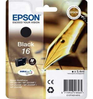 T1621 / T16214 (№16) Картридж для Epson WF-2010W/2510WF/2520/2530/2540  (165 стр) Black
