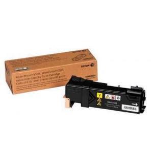 106R01603  Тонер-картридж желтый Phaser 6500/ WC 6505. Ресурс 2500 страниц