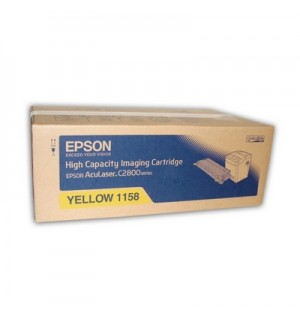 S051158  Тонер-картридж Epson ALC2800/ C2800N High Capacity Yellow (6000стр.)