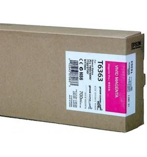 T6363 / T636300 Картридж для Epson Stylus Pro 7700/7890/7900/9700/9890/9900 Vivid Magenta ( 700 ml )