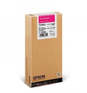 T5963 / T596300 Картридж для Epson Stylus Pro  SP 7890/ 7900 / 9900/ 9890, WT7900 Vivid Magenta ( 350 ml )
