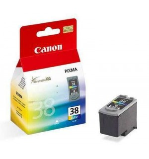 CL-38 [2146B005] Цветной картридж к Canon Pixma  iP1800/ iP1900/iP2500/ MP190 /MP220, MX300, MX310 (205стр A4, 85 фото)
