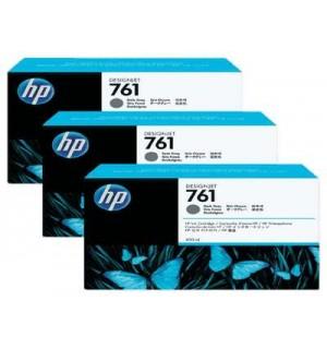 CR274A HP 761 картриджи для DesignJet T7100, тройная упаковка, Темно-серый (400 мл.)
