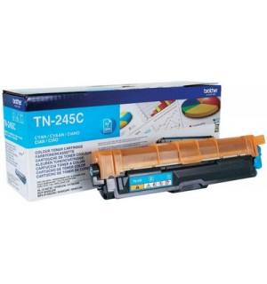 TN-245C Тонер-картридж Brother для HL3140CW/ 3170СDW/ DCP-9020CDW/ MFC-9140/ 9330CDW/ 9340 голубой (2200стр)
