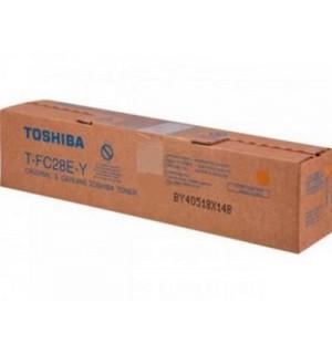 T-FC28EY Тонер Toshiba для e-STUDIО2330C/2820C/3520C/4520C желтый, ресурс – 24 000 отпечатков