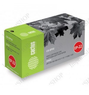 EP-22 Совместимый Картридж Cactus CS-EP22S для Canon LBP 800/ 810/ 1120= HP C4092A (2500 стр.)