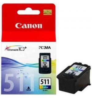CL-511 [2972B007] Цветной картридж к Canon Pixma MP 230/ 240/ 250/ 260/ 270/ 480/ 490; MX 320/330/ iP2700/ MX340 / MX350 ( 9 мл)