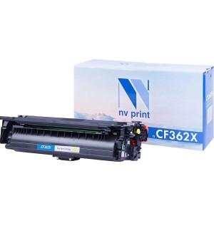 CF362X Картридж NV Print желтый, совместимый (9500стр.)