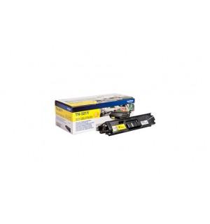 TN-321Y Тонер картридж Brother желтый для HL-L8250CDN, MFC-L8650 (2500 стр.)