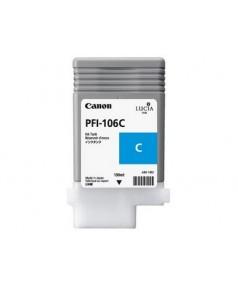 PFI-106C (Cyan) [6622B001] Картридж с чернилами для плоттера Canon iPF6400/6450 (130 мл)