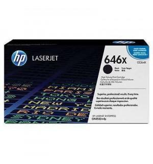 CE264X / CE264XC №646X Черный картридж HP Color LJ для CM4540  (17 000стр)