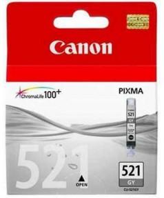 CLI-521GY [2937B004] Картридж (чернильница) к Canon Pixma MP640/ MP980/ MP990/ MX870  СЕРЫЙ (220 стр.)
