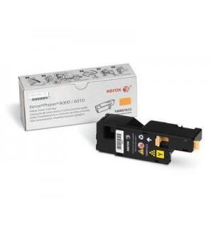 106R01633  Тонер-картридж желтый Phaser 6000/6010/ WC 6015. Ресурс 1000 страниц