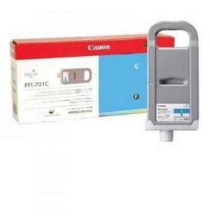 PFI-701C [0901B005] Чернильница CANON Cyan для IPF-8000/9000 700мл