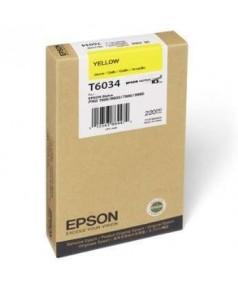 T6034 / T603400 Картридж для Epson Stylus Pro 7800/ 7880/ 9800/ 9880, Yellow (220 мл.)